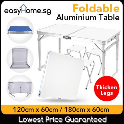 Portable Foldable Aluminium Table