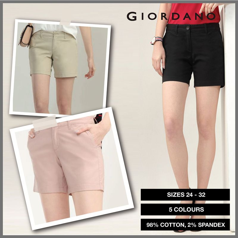 Women 6-Inch Casual Slim Shorts