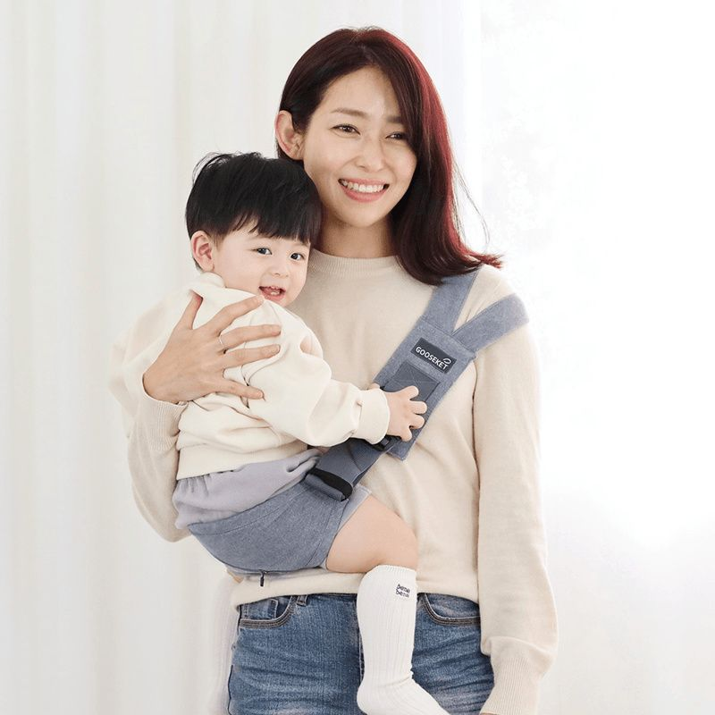 Gooseket Support Bag ANAYO 2 / Baby Toddler Carrier / Portable / Simple / Made in Korea