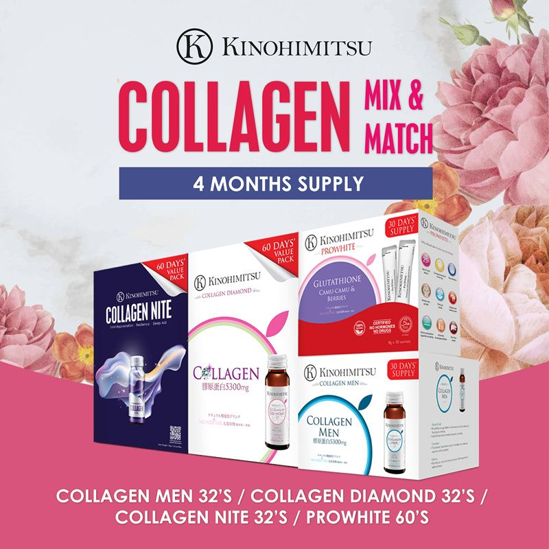 [4MTH SUPPLY] BEST SELLING COLLAGEN Deals for only S$155 instead of S$326.1