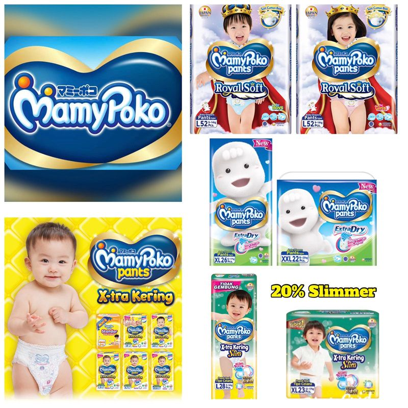 **OCTOBER SPECIAL** MAMYPOKO PANTS DIAPER - ROYAL SOFT BOY / EXTRA DRY / STANDARD / STANDARD SLIM