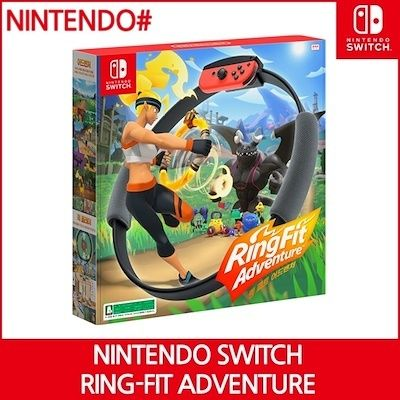 [Ready Stock] Nintendo Switch Ring Fit Adventure Deals for only S$92.95 instead of S$0