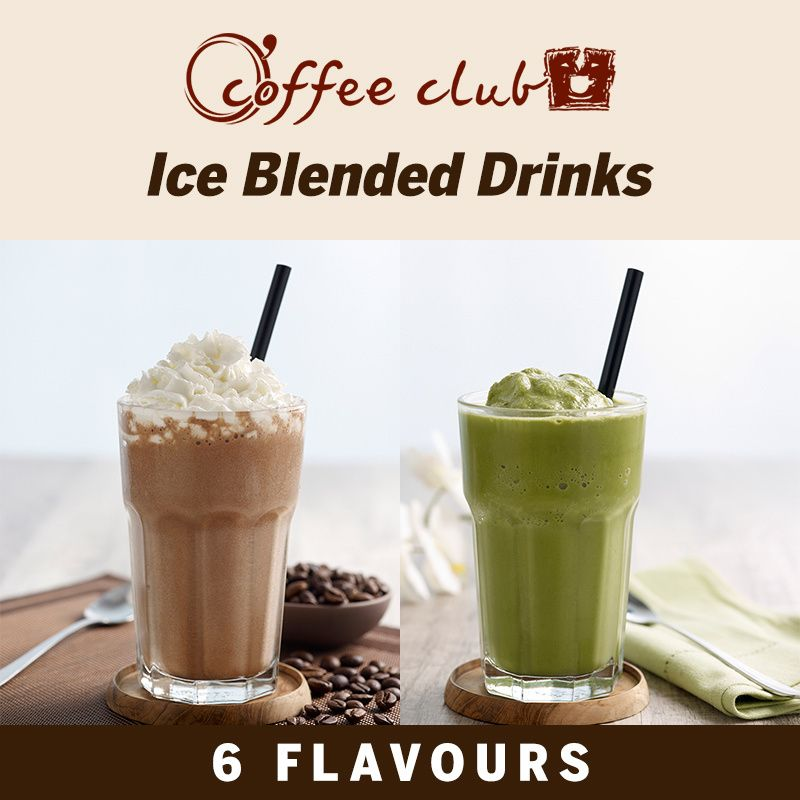 Coffee Club] Ice Blended Drinks