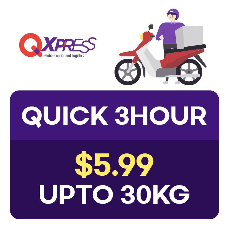 Qx Quick Service Voucher   Only for Local Delivery