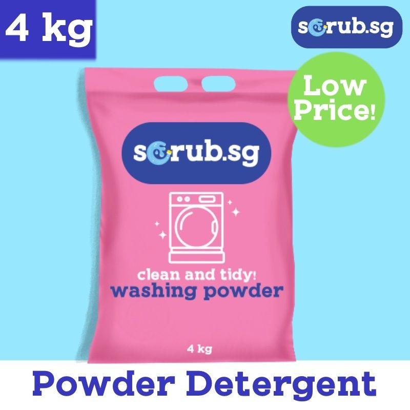 POWDER DETERGENT  4 kg  **Super concentrated**