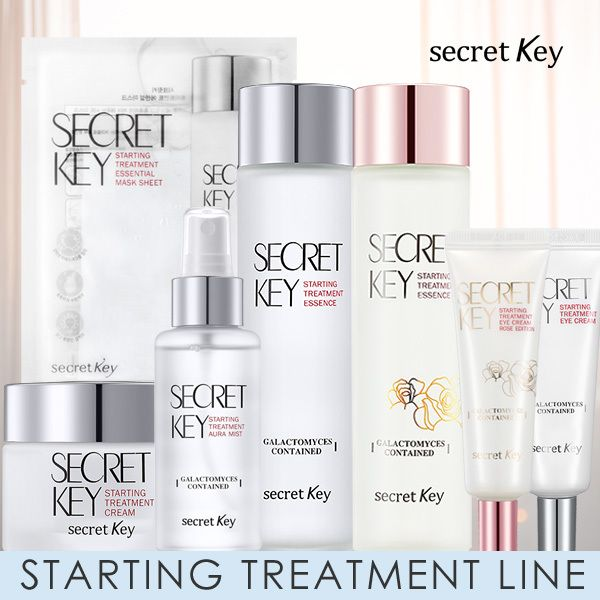 SECRETKEY STARTING TREATMENT LINE Galactomy essence/Eye cream/Cream/Mist/Mask pack Deals for only S$7.14 instead of S$15.13