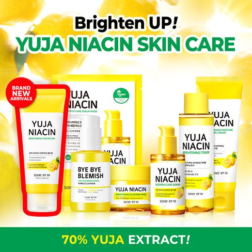 YUJA TONER / GEL CREAM ADDED![SOME BY MI] YUJA NIACIN 30 DAYS MIRACLE BRIGHTENING SKIN CARE Deals for only S$11.9 instead of S$28.9