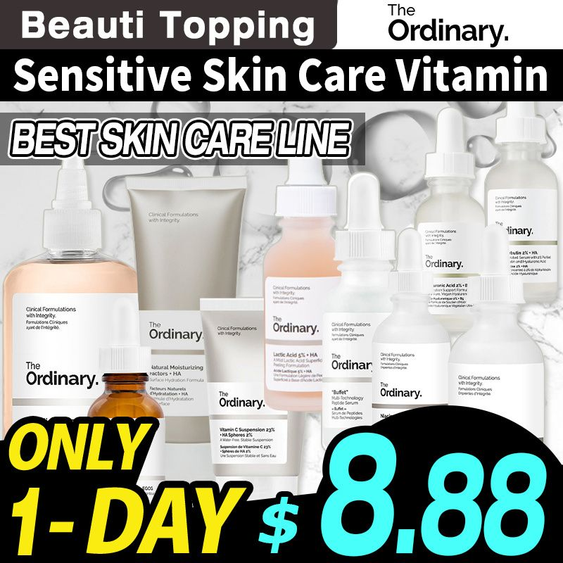[The Ordinary] Sensitive Skin Care Vitamin Niacinamide 10%+Zinc 1% 30ml / 60ml Deals for only S$8.88 instead of S$25