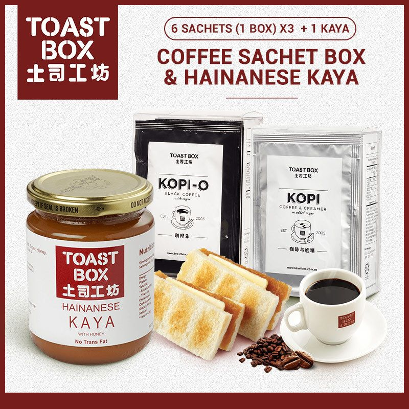 Toast Box Coffee Sachets