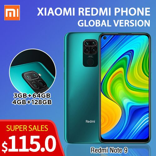 IN STOCKGlobal Version Xiaomi Redmi 9A/9/Note 9/Note 8 Smartphone xiaomi phone Redmi Deals for only S$115 instead of S$189
