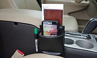 Between The Seats Phone Holder and Organizer Deals for only C$8.99 instead of C$13.99