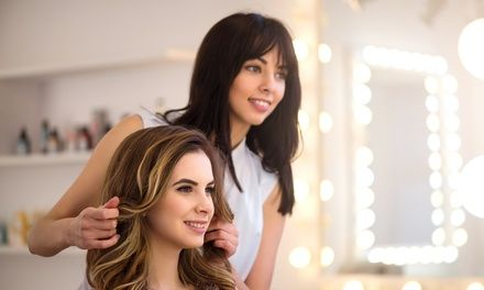 Haircut, Shampoo, and Style with Optional Partial or Full Highlights at Natural Attraction Deals for only C$22 instead of C$40