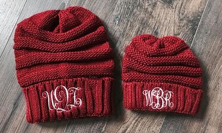 One, Two, Three, Five, or 10 Personalized Embroidered Beanies for Adults or Kids from Qualtry Deals for only C$5 instead of C$19.99