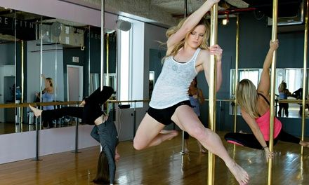 Up to 66% Off Pole Dancing Fitness Classes at Studio Chic Deals for only C$47 instead of C$125