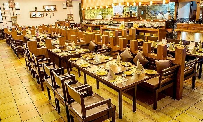Rs.439 For Buffet with Soft Drink at The Ancient Barbeque