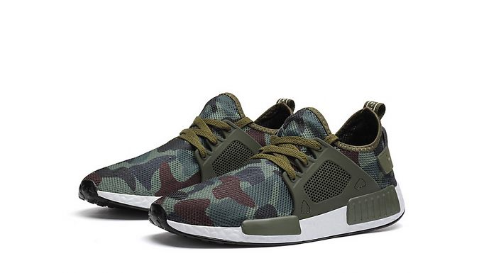 Keep Fit And Stylish With These Men's Breathable Camouflage Trainers For Just £14.99 Instead Of £69.99