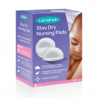 Lansinoh Disposable Stay Dry Nursing Pads, 60 Count Deals for only $6.48 instead of $6.48
