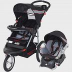 Baby Trend Expedition Jogger Travel System, Black Deals for only $141.99 instead of $141.99