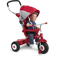 Radio Flyer, All-Terrain 4-in-1 Stroll 'N Trike, Air Tires, Red Deals for only $99 instead of $99