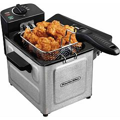 Proctor-Silex Professional-Style Deep Fryer, 1.5 L Deals for only $26.88 instead of $26.88