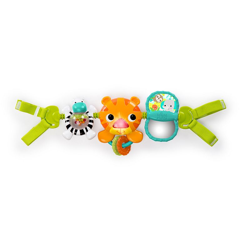 Bright Starts Take Along Musical Carrier Activity Toy Bar, Ages Newborn +