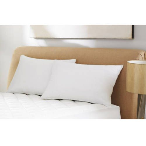 Mainstays 100% Microfiber Pillow Twin Pack in 20 x 26