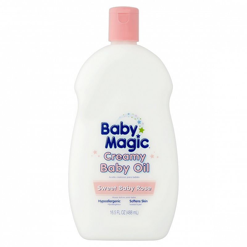 Baby Magic Sweet Baby Rose Creamy Baby Oil, 16.5 fl oz Deals for only $2.98 instead of $2.98