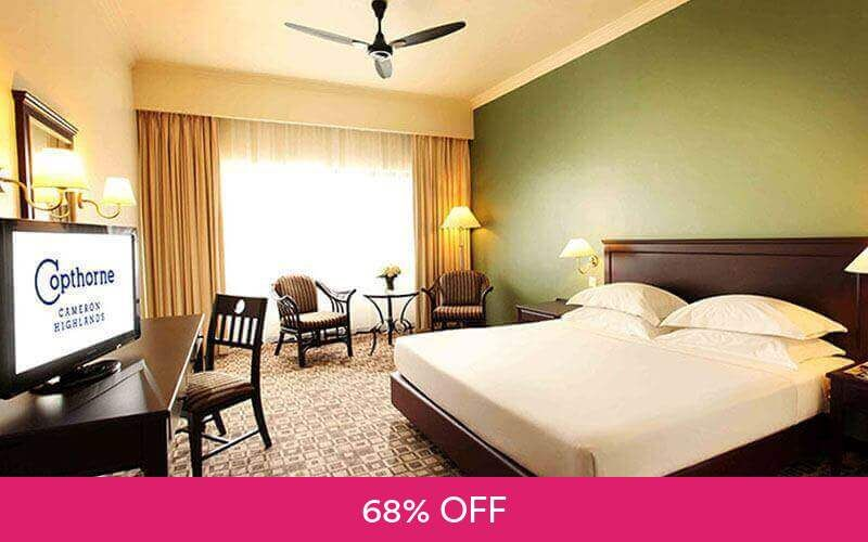 Cameron Highlands: 2D1N Stay in Superior Room for 2 People at Copthorne Hotel Cameron Highlands Deals for only RM158 instead of RM490