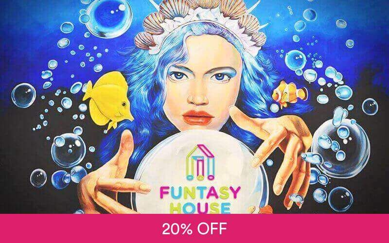 1-Day Admission to Funtasy House Trick Art for 1 Adult Deals for only RM12 instead of RM15