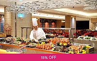 (Jan 25 / 26 / 27, 2020) Lunar New Year's Day Hi-Tea Buffet for 1 Adult at Carousel @ Royal Plaza on Scotts Deals for only S$48.02 instead of S$56.5