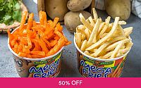[VDAY] 1-For-1 Mega Fries at Potato Corner Deals for only S$5.7 instead of S$11.4