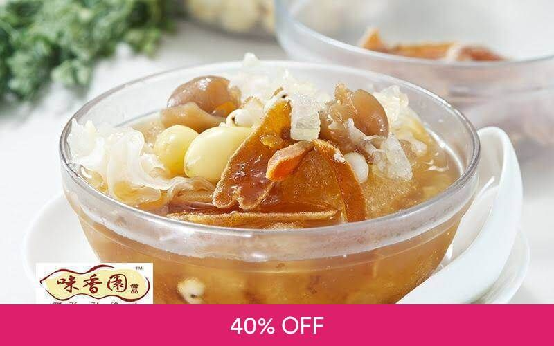 $10 Cash Voucher for Asian Desserts Deals for only S$6 instead of S$10