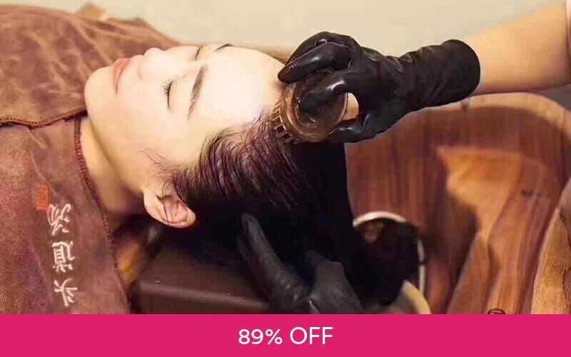 Chinese New Near Year Special!: 1-Hour 3-Step Head Wellness Therapy with Scalp Detox and Head Massage for 1 Person at MEIYA HEAD TREATMENT INTERNATIONAL