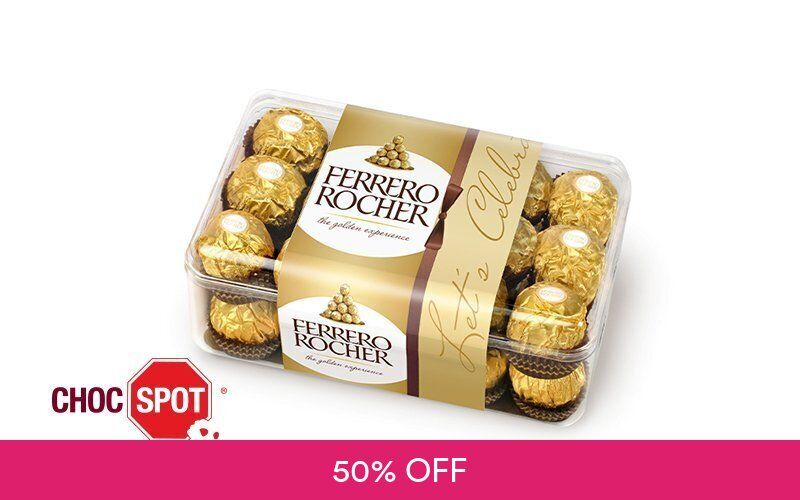 [7.7 Flash] 1-For-1 375g Ferrero Rocher T30 at Choc Spot Deals for only S$15.5 instead of S$31
