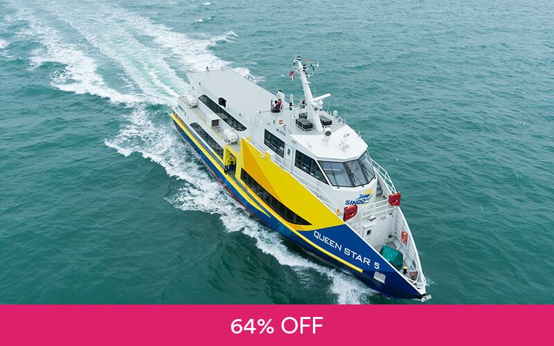 1-for-1 Return Sindo Ferry Tickets to Batam Centre / Sekupang / Waterfront at Flamingo Travel Services Deals for only S$35 instead of S$98
