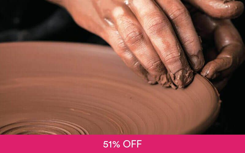 30-Minute Pottery Workshop for 2 People at Taoz Ceramics Studio Deals for only S$58 instead of S$118