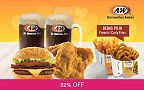 February Coupon Paket Deluxe Burger