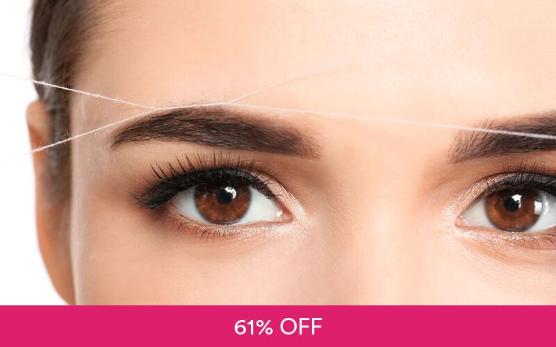 1x Threading Eyebrow at Shaf Studio Deals for only Rp39.000 instead of Rp99.000