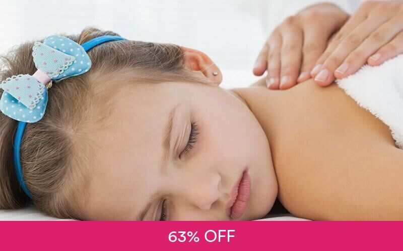 1x Kids Massage Full Body at Eltien Kids and Baby Spa Deals for only Rp70.000 instead of Rp188.000