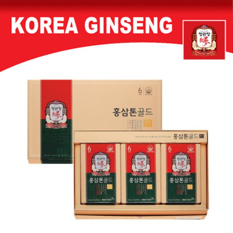 [CHEONG KWAN JANG] Korean 6 Years Red Ginseng Tonic Gold 40mL x 30 Bags Deals for only $210.79 instead of $261.46