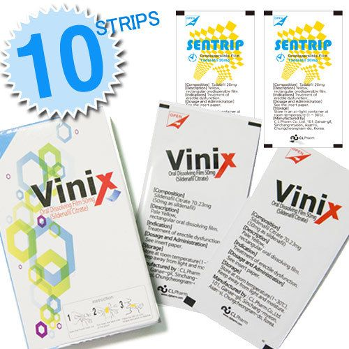 vinix oral strips_ vi / sentrip oral strips_ci made in korea film type Deals for only $50 instead of $200